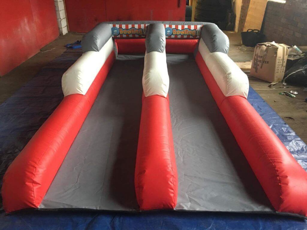 Inflatable Bowling Alley wedding hire Somerset