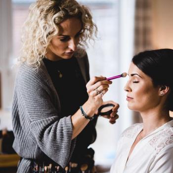Wedding makeup artist Bristol