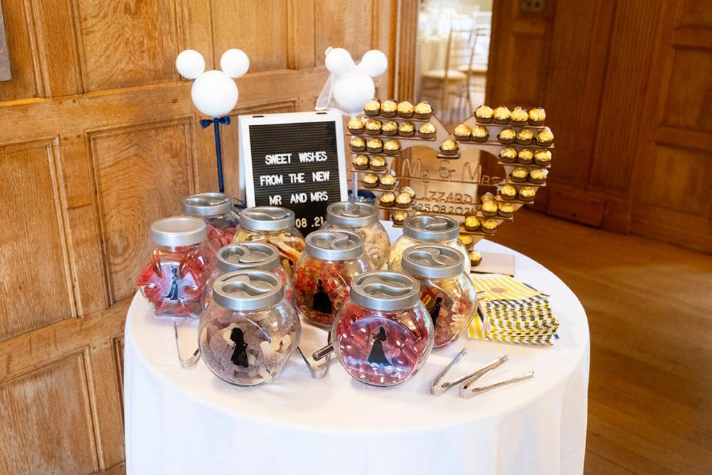 Coombe Lodge Disney sweet table Bristol Somerset