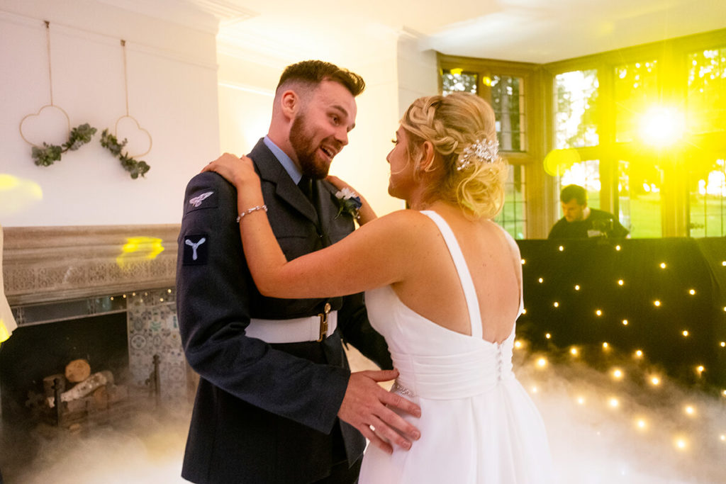 Coombe Lodge Kieran Clarke Entertainment DJ hire wedding