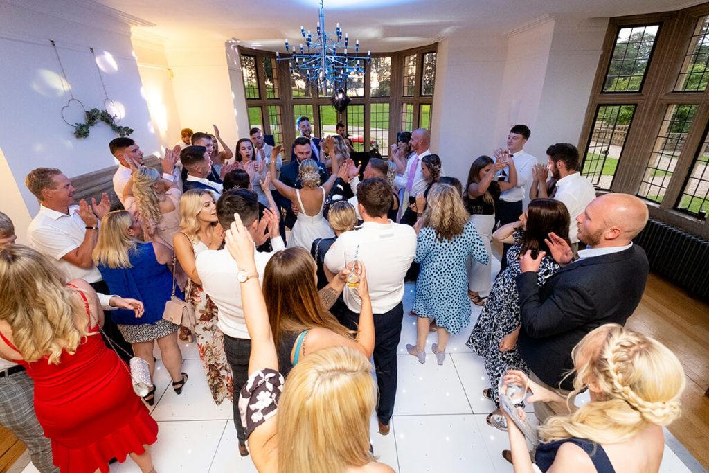 Coombe Lodge Kieran Clarke Entertainment LED dance floor wedding hire